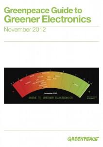 Guide Greenpeace sur l'electronique verte edition 2012