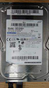 Recuperation disque dur Samsung